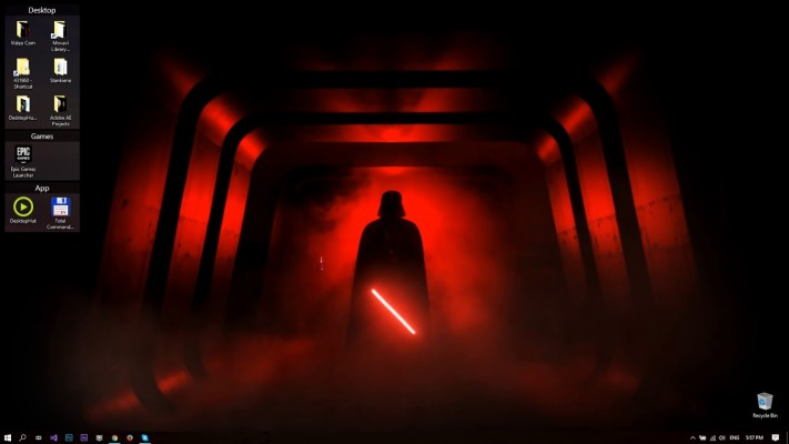Wallpaper Star Wars Dark Side Wallpaper 4k 2560x1440 Wallpaper Teahub Io