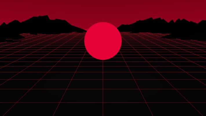 10 102888 80s aesthetic wallpaper red red aesthetic background desktop