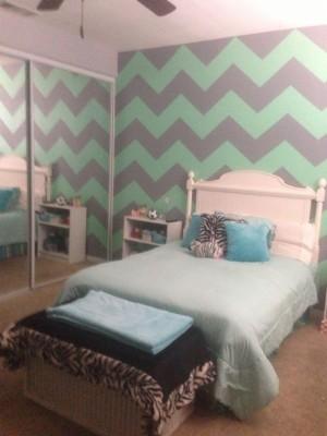 Modern Mint Green Bedroom Decor Decorating Idea Thegreenstation