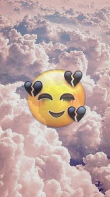 Emoji Wallpaper Iphone White Heart Emoji On Iphone Keyboard 3200x2400 Wallpaper Teahub Io
