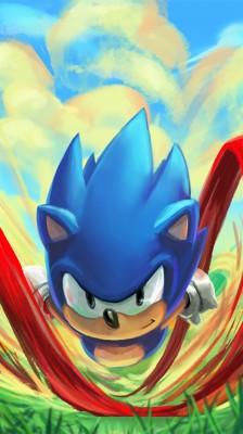 Sonic The Hedgehog Phone 750x1334 Wallpaper Teahub Io