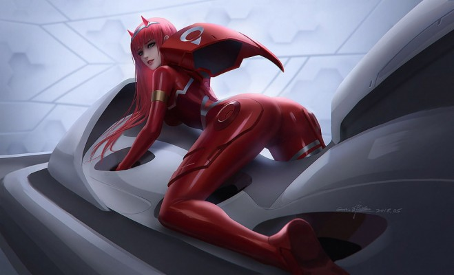 Darling In The Frankxx Zero Two Wallpaper Engine Darling In The Franxx 700x700 Wallpaper Teahub Io