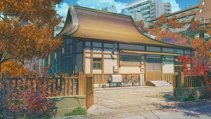 Rokurova Kuca 107-1077408_traditional-japanese-house-anime