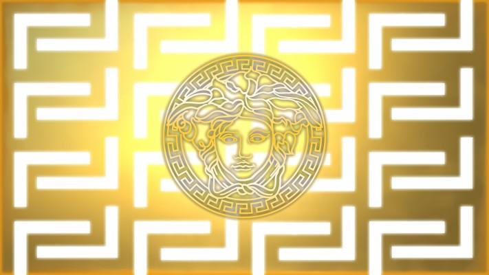 Versace Logo Versace Logo Black And Gold 1768x1730 Wallpaper Teahub Io