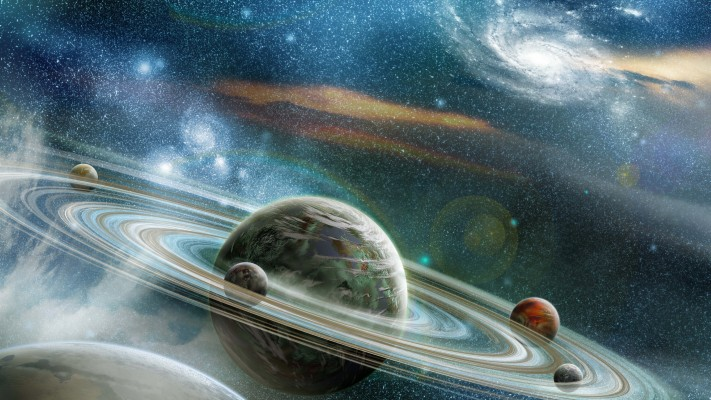 11 115960 space galaxy planets wallpaper 4k
