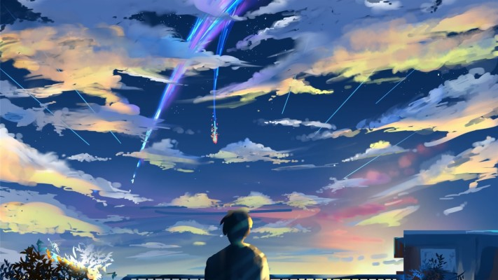 Couple Kimi No Nawa 2663x1760 Wallpaper Teahub Io