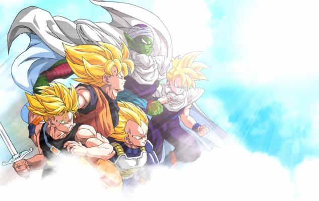 Dragon Ball Z Trunks Goten 1920x1200 Wallpaper Teahub Io