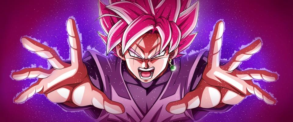 Goku Black Rose Wallpaper Goku Black Super Saiyan Rose 1920x1080 Wallpaper Teahub Io