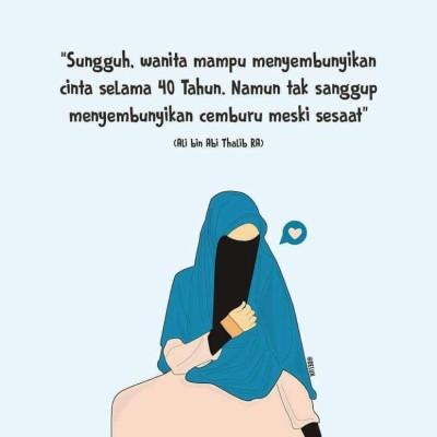 Gambar Kartun Wanita Muslimah Dan Kata Kata Gambar Kartun Muslimah Cantik Kata Kata Cinta Muslimah 825x825 Wallpaper Teahub Io