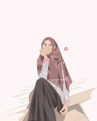 1000 Gambar Kartun Wanita Muslimah Cantik Dan Lucu Cartoon Muslim Girl Wallpaper Hd 900x1481 Wallpaper Teahub Io