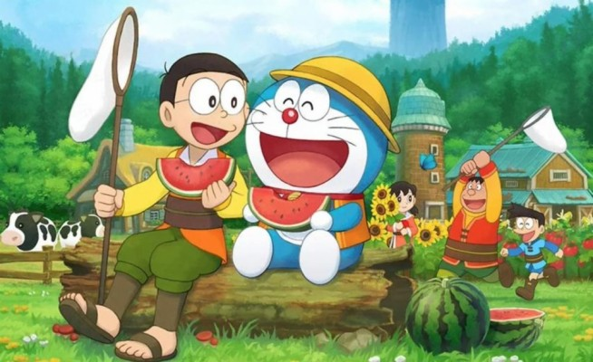 Boneka Doraemon 1600x1200 Wallpaper Teahub Io