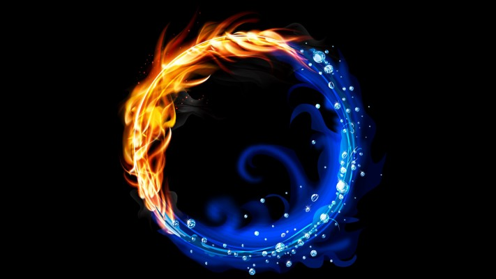 117 1172278 fire and water wallpaper fire and water circle