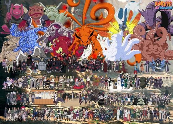 118 1185270 naruto all characters wallpaper hd