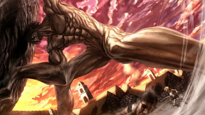 Download Attack On Titan Wallpapers And Backgrounds Teahub Io
