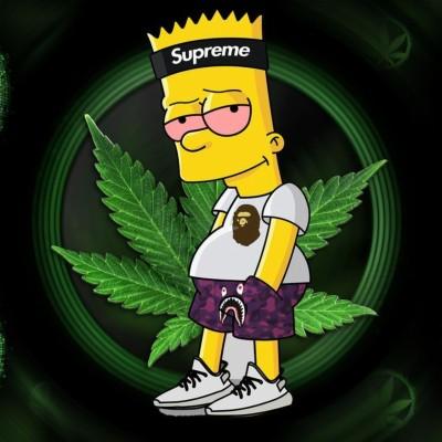 Bart Simpson Name 1024x768 Wallpaper Teahub Io
