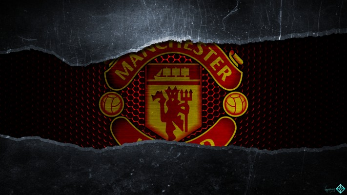 Wallpaper Manchester United Yang Keren Manchester United Logo Wallpaper Keren 1600x1200 Wallpaper Teahub Io