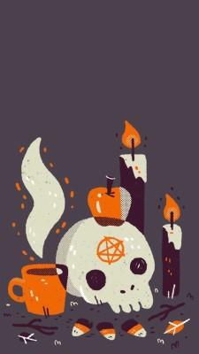 Halloween Wallpaper Aesthetic 750x1057 Wallpaper Teahub Io