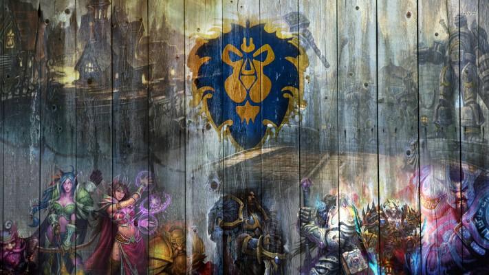 Rw9j882 Wow Alliance Wallpaper World Warcraft Alliance