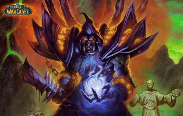 Preview Wallpaper Warlock Orc Lock Warlock People World Of
