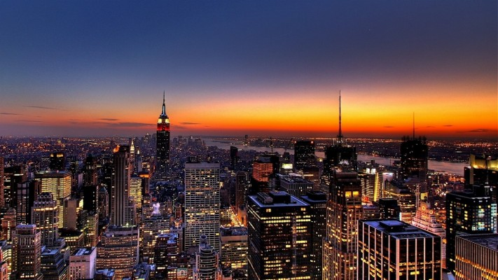 Wallpaper New York Usa Night City Panorama Skyscrapers City Iphone 11 Backgrounds 2560x1080 Wallpaper Teahub Io