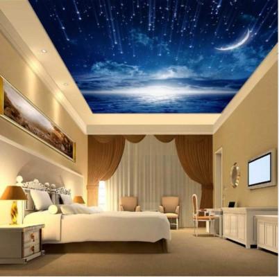 135 1351762 3d ceiling wallpaper for bedroom