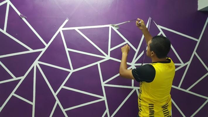 Wall Paint 3d 3d Wall Painting 3d Wall Paint Tutorial Youtube Wall Painting 3d Wall Painting Wall Paint Designs