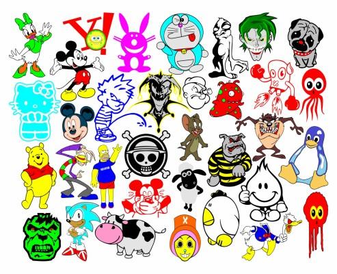 140 1405831 kumpulan gambar stiker kartun keren background wallpaper mickey