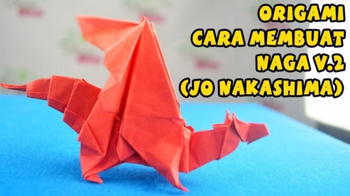 Origami T-Rex/Paper T-Rex 🦖 (Hadi Tahir) | 400x711
