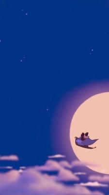 Disney Aladdin And Wallpaper Image Aladdin Disney 640x1136 Wallpaper Teahub Io