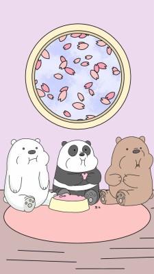 143 1430808 we bare bears wallpaper iphone