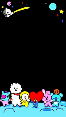 145 1456780 bts and bt21 image bt21 wallpaper lockscreen