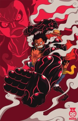 One Piece Luffy Gear 4 1280x720 Wallpaper Teahub Io