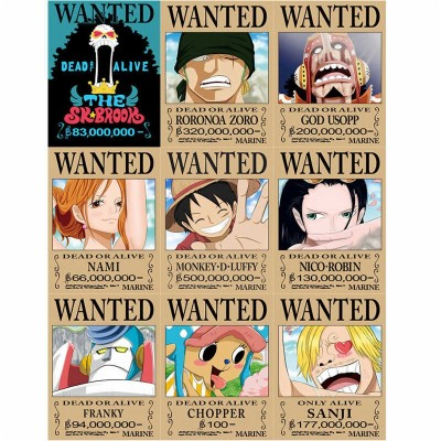 One Piece Wanted Posters Hd 1280x800 Wallpaper Teahub Io