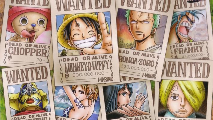 One Piece Luffy Zoro Sanji Chopper Brook Franky Usopp One Piece Cool Background 1366x768 Wallpaper Teahub Io