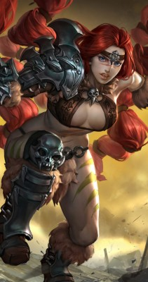 Vainglory Red Rona - 852x1608 Wallpaper