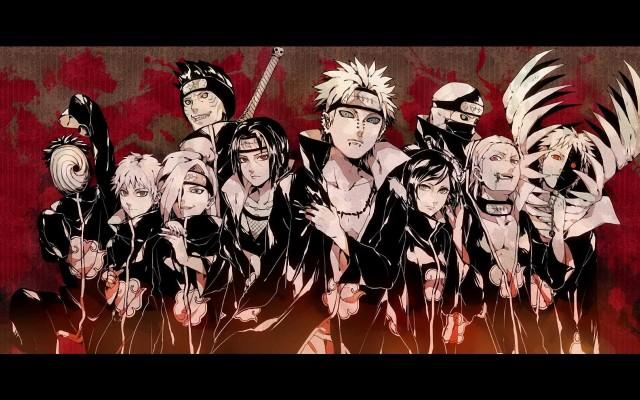 Naruto Akatsuki Wallpaper Iphone 750x1334 Wallpaper Teahub Io