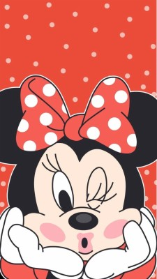 16 164566 cute minnie wall disney wallpaper mickey mouse