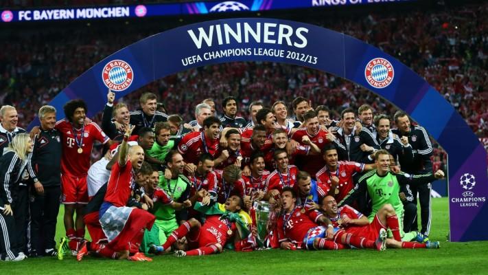 Bayern Munich Champions League Logo 1920x1080 Wallpaper Teahub Io