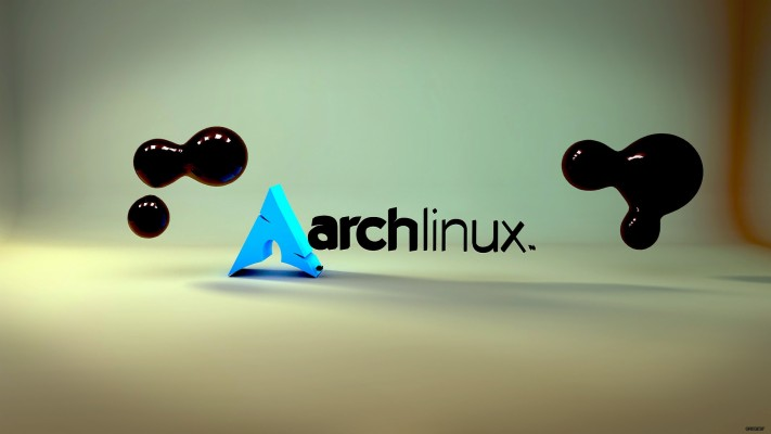 Purple Background And Arch Linux 3d Wallpaper - Arch Linux ...