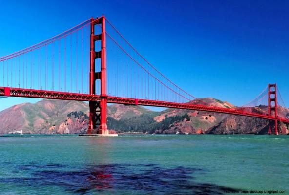 Golden Gate Bridge San Francisco Hd 1600x1094 Wallpaper Teahub Io