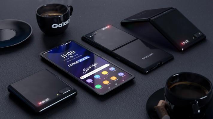 Samsung Galaxy Z Flip 492x1200 Wallpaper Teahub Io
