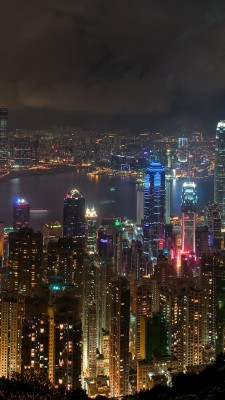 Night City Wallpaper Samsung Galaxy 720x1280 Wallpaper Teahub Io