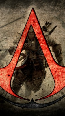 Assassins Creed Logo Wallpapers For Iphone 720x1280 Wallpaper Teahub Io