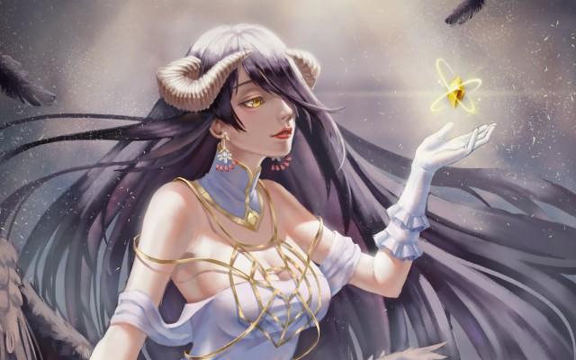 Overlord Anime Folder Icon 2560x1440 Wallpaper Teahub Io