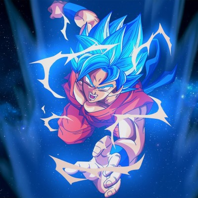 Iphone 6 Wallpaper Goku 2732x2732 Wallpaper Teahub Io