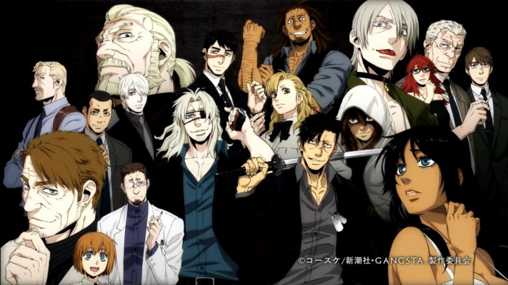 Anime Habuki Gangsta Anime Gangster Girl And Boy 600x842 Wallpaper Teahub Io
