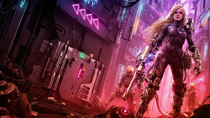 Sci Fi 404 Error Cyberpunk Girl 4k 3840x2160 Cyberpunk Girl Wallpaper Phone 2160x3840 Wallpaper Teahub Io