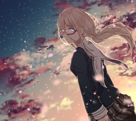 182 1827329 sad blonde anime girl