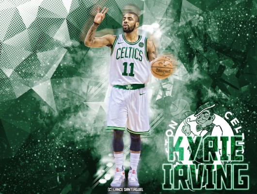 Cartoon Kyrie Irving Wallpapers Boston Celtics: Kyrie Irving Wallpaper Celtics