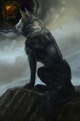 183 1838060 wallpaper wolf art fantasy predator beast galaxy mythical
